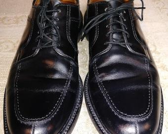 "Allen Edmonds Mens Black Leather vintage style Oxford Shoes ""NORSE"" 11.5 B Casual Work Classic"