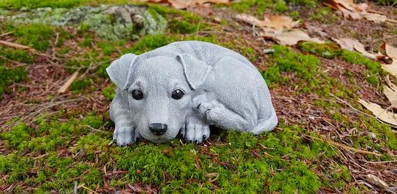Terrier Statue Terrier Memorial Terrier Garden Statue Jack