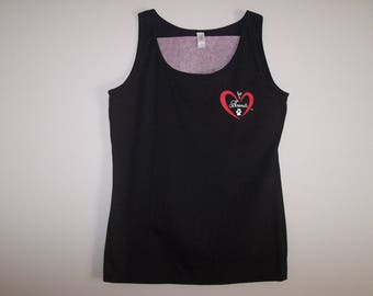 Heart of Love for Animals - Ladies Tank Top - Size XL