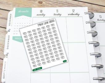 TRANSPARENT MINI | Money, Pay Day, Savings, Vinyl Sticker, Function Stickers, Erin Condren, Happy Planner, Planner Stickers || CL015