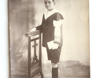 Vintage black and white, photo communion, french vintage, sepia, 1930, retro
