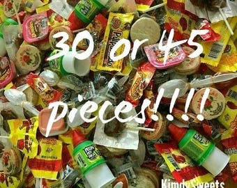 Mexican candy mix, 30 or 45 pieces!!