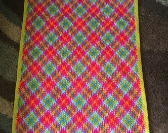 Small lap afghan