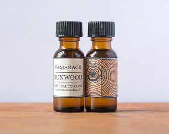 SUNWOOD - Natural, Organic Cologne, perfume for men and women