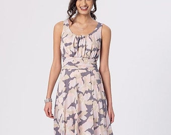 pattern McCalls 7350, Misses Dresses Sewing Pattern, DIY Dress, New Uncut Pattern sizes 6-14