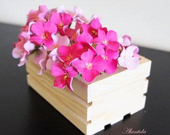 Wedding hair pin with light  pink Hydrangea,Bridal hair pin,Wedding accessories .