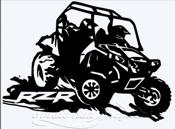 Rzr Polaris Razor Custom Decal Sticker Utv Side By Side Atv