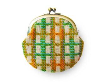 Metal frame coin purse // Retro Spec
