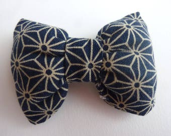 Hair bow Japanese Asanoha - shipping offered France