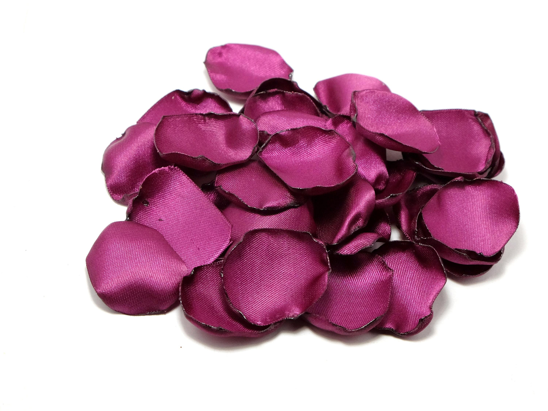 Purple Rose Petals Wedding Rose Petals Flower Girl Petal