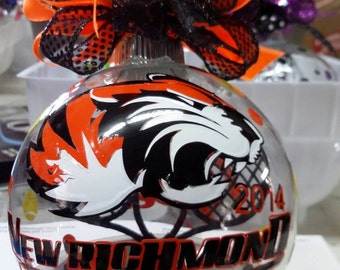 Custom Team Christmas Ornament