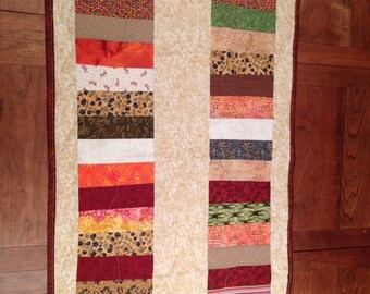 Jelly Roll Style 2 wall hanging or Table runner