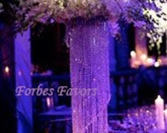 "24"" Glamorous Whimsical Love Spiral Chandelier Centerpiece Wedding & Special Occasion Centerpiece"