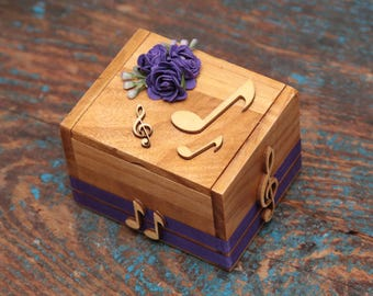 Ring bearer ring box musical theme
