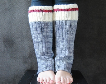 RUGGED Leg Warmer Knitting Pattern