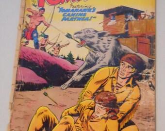 Tomahawk Comic Book , Vintage DC Comics, Silver Age Comic Book, Tomahawk No. 50 Aug. 1957