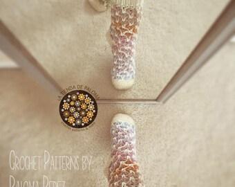 INSTANT DOWNLOAD - Crochet Vintage Love Slippers