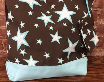 Beach Bag-Star Tote: color Blue