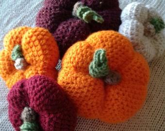 Crochet Fall Pumpkins