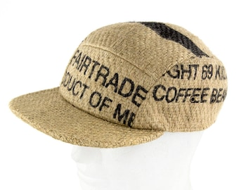 "Umbrella cap ""Café Ristretto""-Fairtrade (Size: L/XL (59-62 cm))"