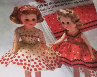 Doll Pattern Quik-Trick Wardrobe 10.5 Inch High Heel Dolls