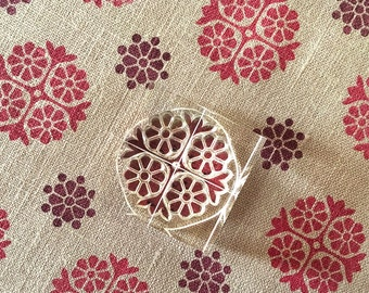 Daisy Chain - Floral Stamp Set - Pattern Making Stamps  - Clear Stamps
