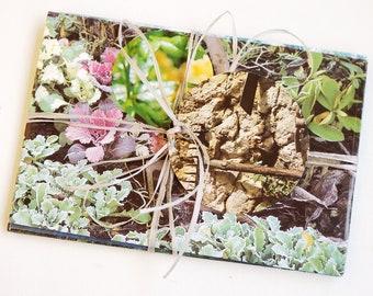 C6 Envelopes Garden Romance, envelopes garden motifs,, Envelops handmade, Geschenverpackung, envelopes handmade, romantic garden