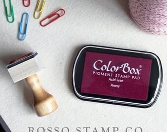 Peony Pigment Ink Pad - ColorBox Pigment Ink Pad - Fuchsia Ink Pad