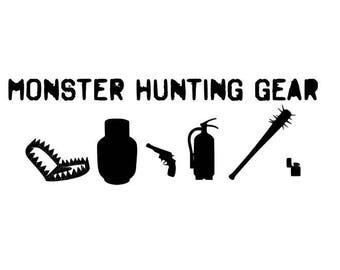 Stranger Things monster hunting gear