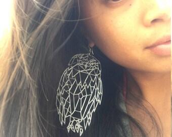 Owl Statement Earrings