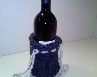Wine bottle sleeve, bottle wrap