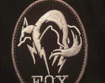 Fox Velcro Patch