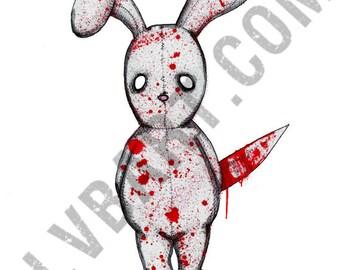 Bad Bunny Fine Art Print