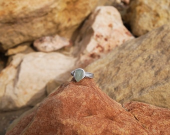 Wrapped Stone Ring (Various Color Options Available)