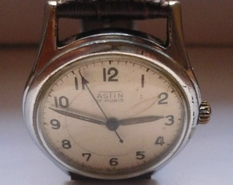 Vintage Astin mens watch 17 Rubis