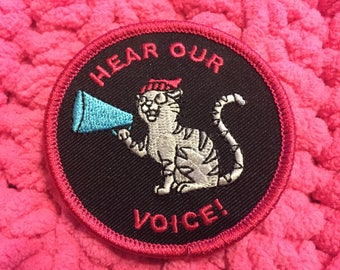 Women's March Hear Our Voice Patch