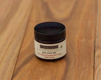 BEE-TOX-ME Active Bee Venom Anti-Aging Firming Manuka Honey Bee Propolis Night Cream Face Moisturizer