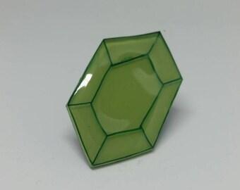Legend of Zelda - Rupee Pin