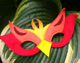 Phoenix Mask / Firebird Mask / Magical Mask