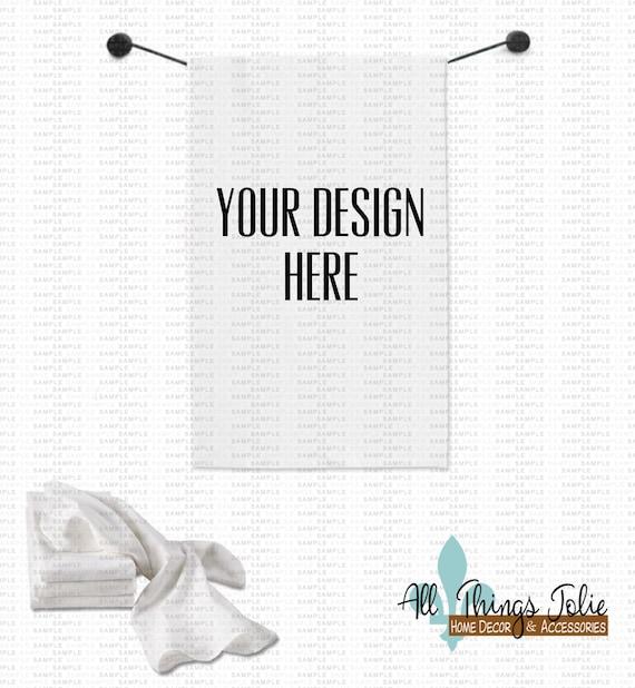 Items Similar To Flour Towel Mockup Photo