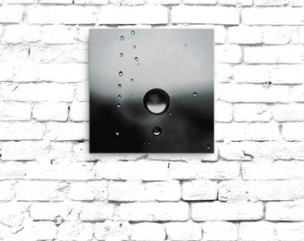 Canvas Print - RainDrops + Fine Art Photography + Wall Art