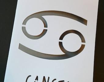 Cancer Star Sign Card