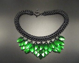 Chainmaille & ScaleMaille Necklace