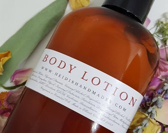 Body Lotion - Choose Your Scent - Moisturizing Body Lotion  - Hand and Body Lotion