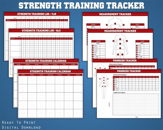 training logs for weight training