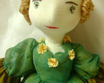 Valerie, a Waldorf-inspired Victorian dressed doll