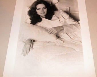 Jaclyn Smith-PRO ARTS Inc.-PROTOTYPE Photograph-B & W 1970s Charlie's Angels!