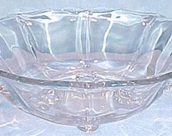 Baroque by Fostoria Crystal Elegant Glassware Console Bowl, 10 in.
