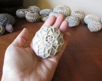 Crochet Meditation Stone #44
