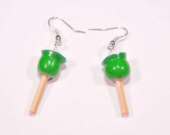 Love Apple Apple earrings